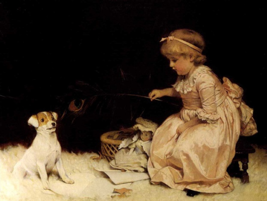 Charles Burton Barber. Best friend