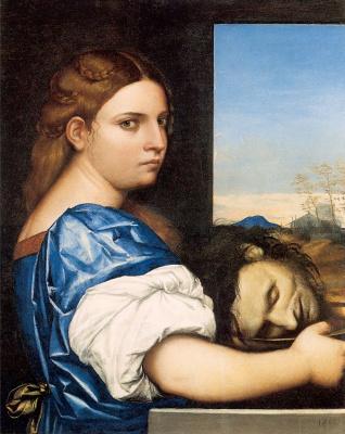 Sebastiano del Piombo. Salome