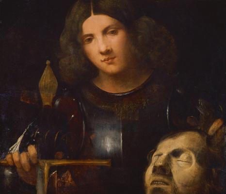 Джорджоне. Давид с головой Голиафа
