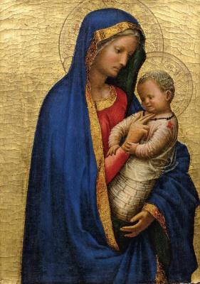 Мазаччо. Мадонна с Младенцем, 1427