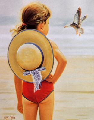 Мариз Пру. Соломенная шляпка
