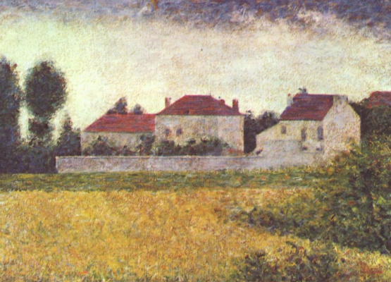 Georges Seurat. Ville d'avray, you'll be white house