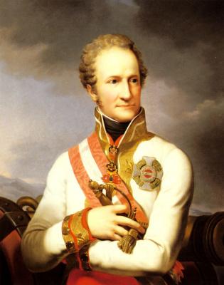 Иоганн Баптист Лампи-мл.. Портрет фон Лихтенштейн