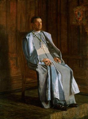 Thomas Eakins. Archbishop Diomede Falconi