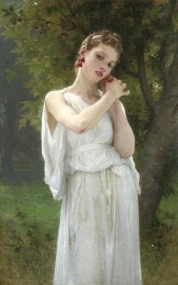 William-Adolphe Bouguereau. Серьги. 1891