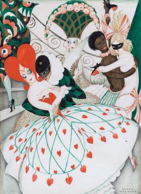 Gerda Wegener. Carnival