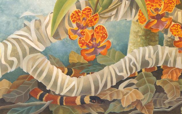 Лаура Риган. Змея