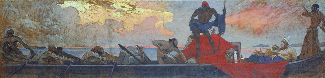 Ivan Grigorievich Myasoedov. Venetian merchants-robbers