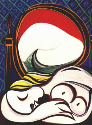 Pablo Picasso. Mirror