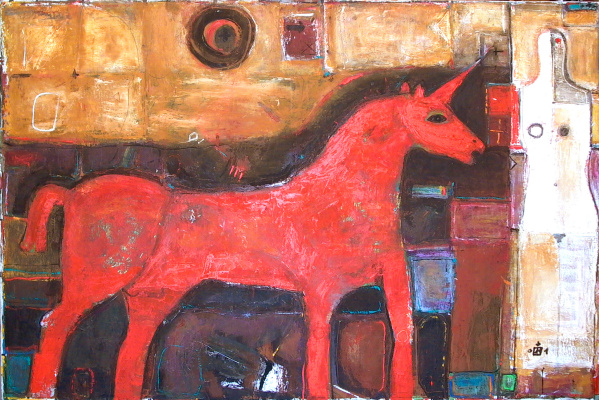 "Igor Vasilyevich Kislitsyn. ""Red Unicorn"" from the TERRITORY"