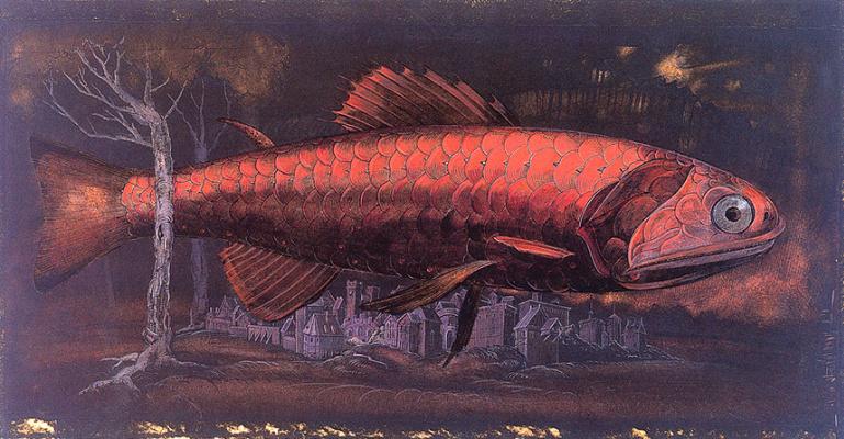 Белла Марску. Красная рыба