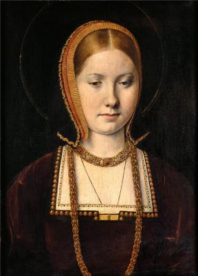 Михель Зиттов. Мария Роуз Тюдор, сестра короля Генриха VIII Английского (?)