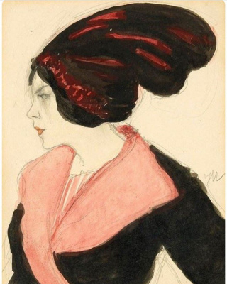 Lady in turban