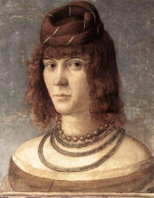 Vittore Carpaccio. Female portrait