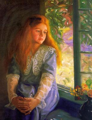 Нокс. Девушка у окна
