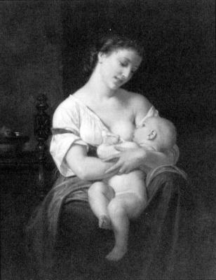 Хьюз Мерль. Кормящая мать