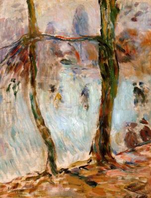 Berthe Morisot. Skating