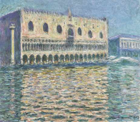 Claude Monet. Le Palais Ducal