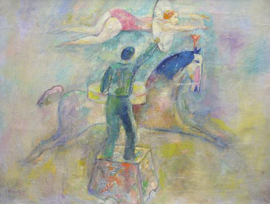 Alexander Mikhailovich Rodchenko. Rider