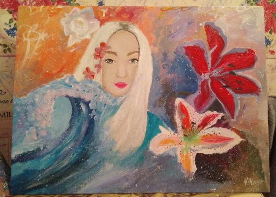 Julia Sergeevna Chekan. Mermaid