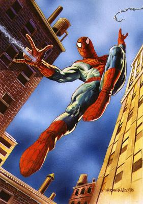Дэйв Деврис. Человек-паук