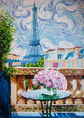 Alisa Denoizz. Morning in Paris