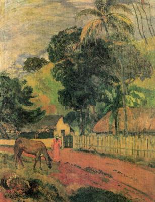 Paul Gauguin. Landscape