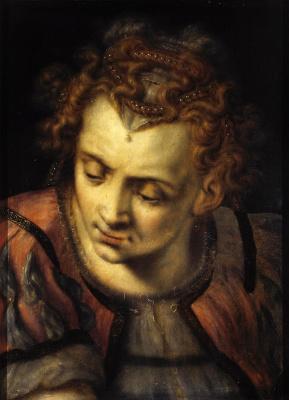 Frans Floris. Study of a female head
