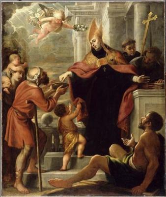 Матео Черезо Младший. Святой Фома из Вильянуэва
