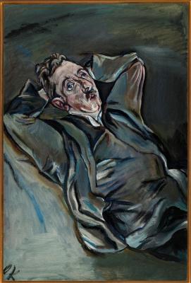 Oskar Kokoschka. Albert Ehrenstein