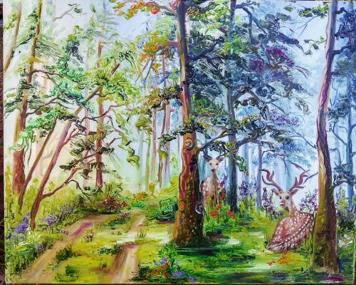 Nadezhda Anatolyevna Poleva. Forest