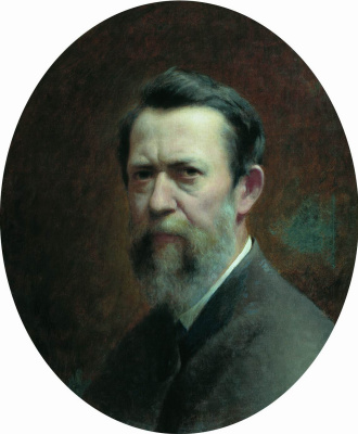 Fedor Andreevich Bronnikov. Self portrait. 1889