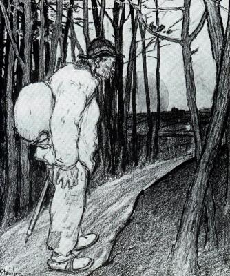 Теофиль-Александр Стейнлен. В путь