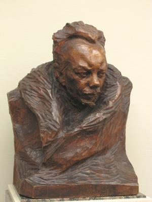 Anna Semyonovna Golubkina. Portrait A.M. Remizov