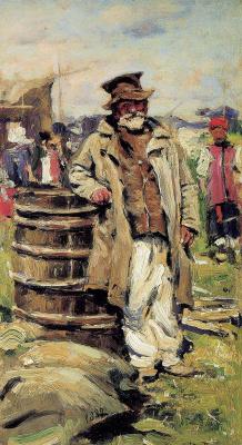 Vladimir Egorovich Makovsky. The old farmer