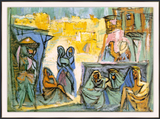 Янко. Арабы на рыночной площади