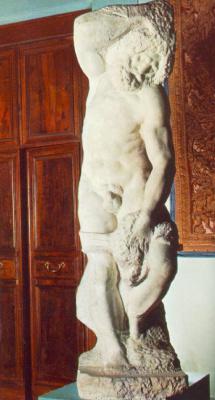 Микеланджело Буонарроти. Бородатый раб