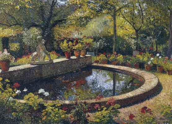 Henri Marten. Fountain