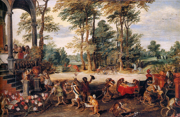 Jan Bruegel The Elder. Trade