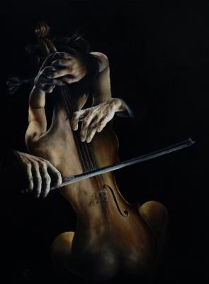 Sergey Vladimirovich Kolesnikov (KS). Cello / Das Cello The Cello