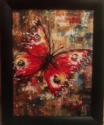 Алина Евгеньевна Шварёва (Галкина). Butterfly