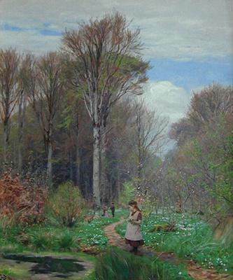 Ганс Андерсон Брендекилд. В лесу
