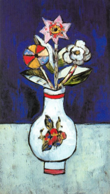 Marsden Hartley. White vase