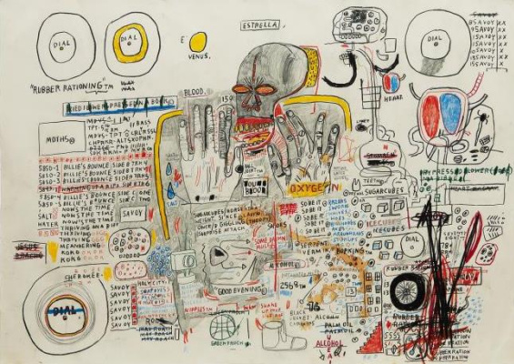 Jean-Michel Basquiat. Untitled (Star)