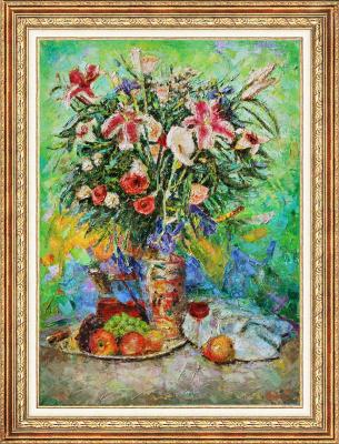 Igor Razzhivin. Favorite flower