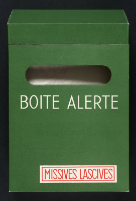 Marcel Duchamp. Boîte alerte