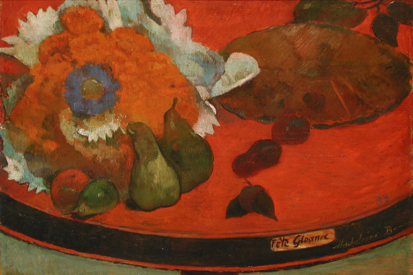 Paul Gauguin. Festive still life