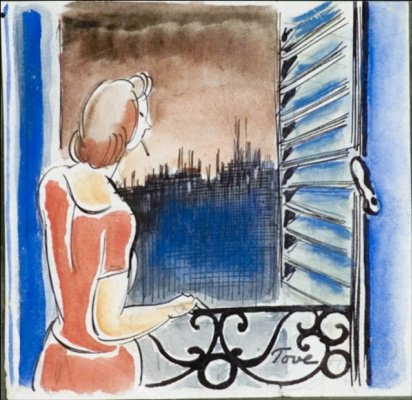 Tove Jansson. By the window in paris