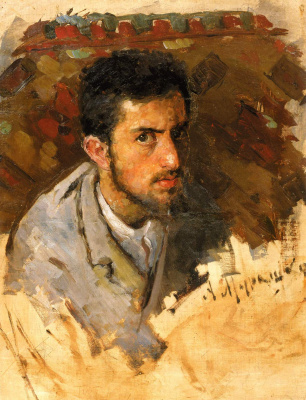 Alexander Murashko. Portrait of a young man