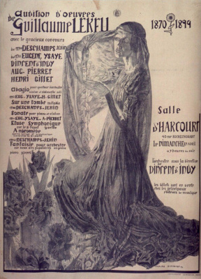 Carlos Schwabe. Concert in memory of Guillaume Lech